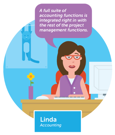 Finance director loves Workamajig's integrated accounting functions