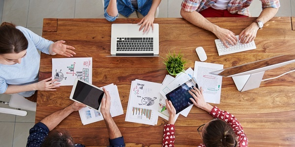 In-house design project management