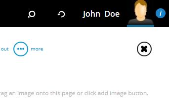 support screenshot i button
